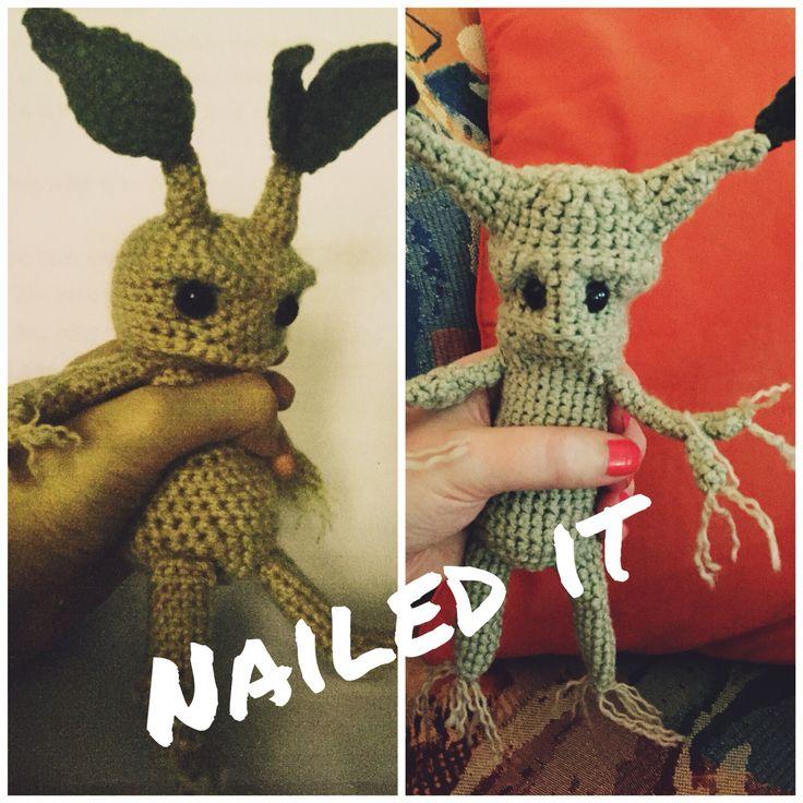 Mandrake crochet fail!