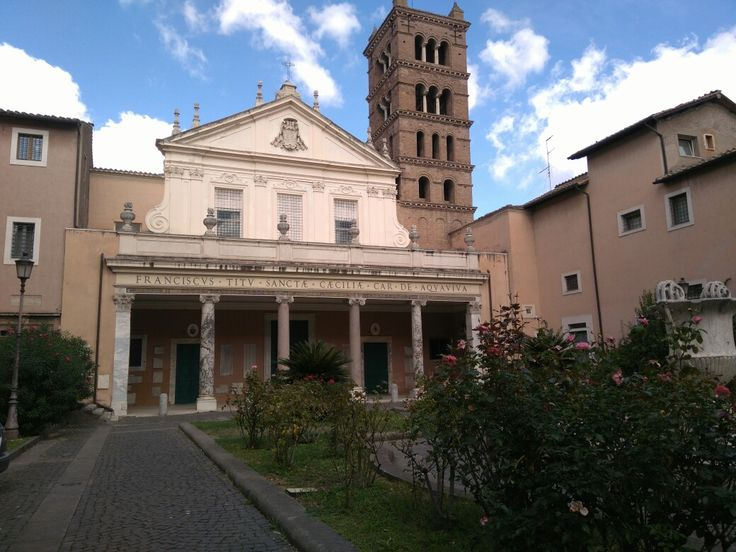 Santa Cecilia. #roma