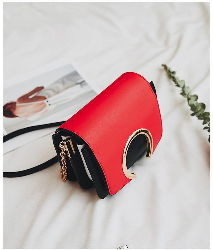 Korean version PUfashion bag (black)NHTC0574