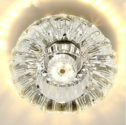 Find More Ceiling Lights Information about Modern 3W LED Crystal Ceiling Chandelier Lustre de crystal Corridor Balcony Porch Crystal Ceiling Lamp Fixture Lighting,High Quality led downlight white,China downlight housing Suppliers, Cheap downlight led dimmable from Zhongshan East Shine Lighting on Aliexpress.com