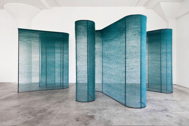 Mimi Jung: Four Teal Walls 2015