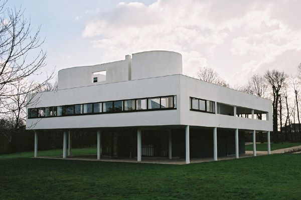 Le Corbusier : サヴォア邸(Villa Savoye)