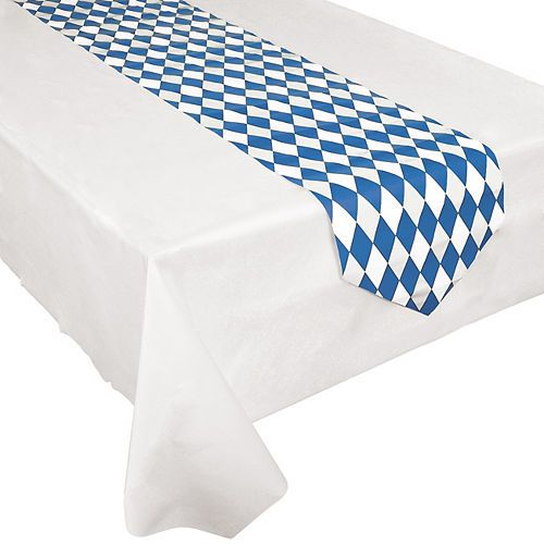 Oktoberfest Table Runner  Party City 4d549ae742c48cfcf45bdfd2b120e032