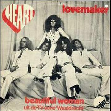 """Heart was a Dutch glam rock band who had 3 singles from 1973 to 1974: """"Hang On"""" (1973), Stronger (1974) and """"Lovemaker"""" (1974). """"Lovemaker"""" was their most known single. Patricia Paay was the lead singer of the band."""