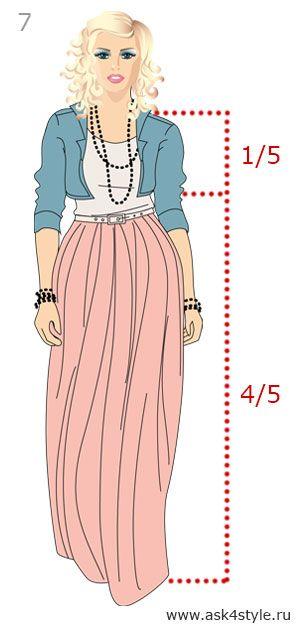 540e73c712e Формула расчета идеальной длины в одежде