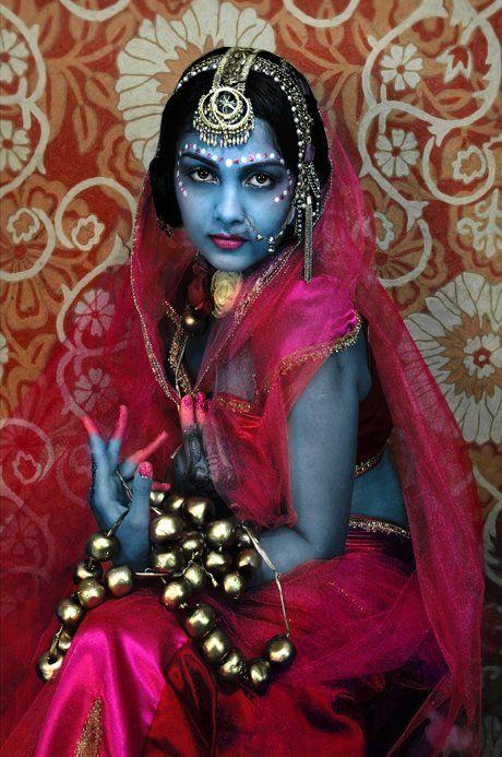 Дарла Teagarden: момиче като и двете Радха и Кришна: