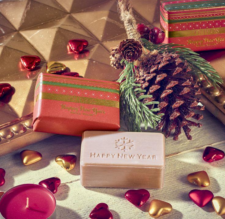 Yeni Yılın En şık Ve Doğal Hediyesi Olivos Happy New Year Sabunu Tüm Migros  Mağazalarında!