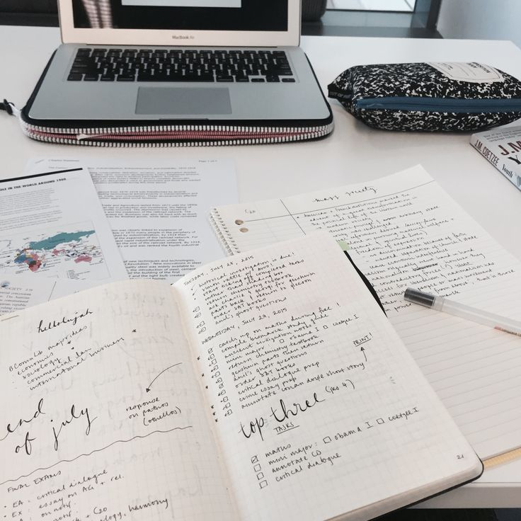 Filling my brain with greatness — afternote:   Not long til final exams for the...