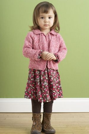 Free+Knitting+Pattern+-+Baby+Sweaters:+Love+the+Earth+Baby+Cardi