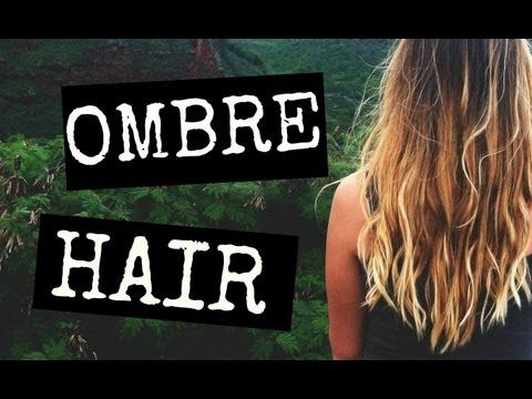 How To: Ombre Your Hair  Good video and she is easy to understand.  (She doesn't sound like a space cadet during the tutorial.)