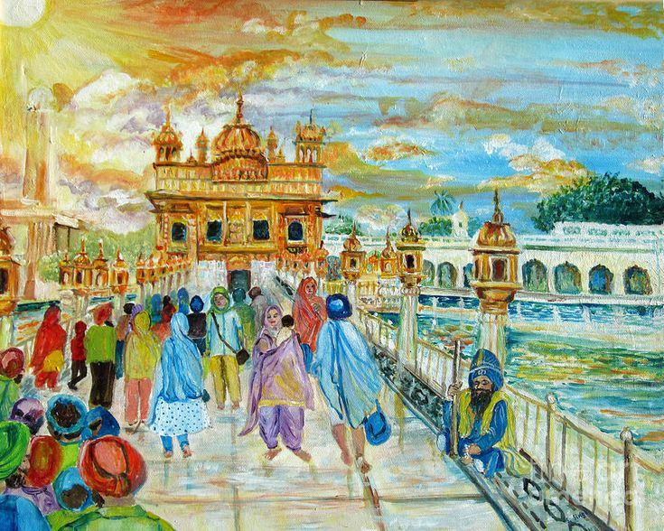 Golden Temple by Sarabjit Singh