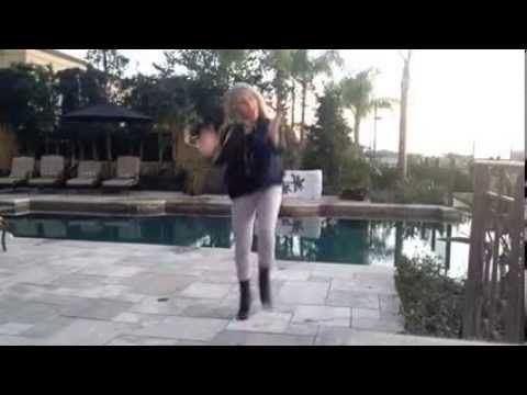 Learn the hustle dance