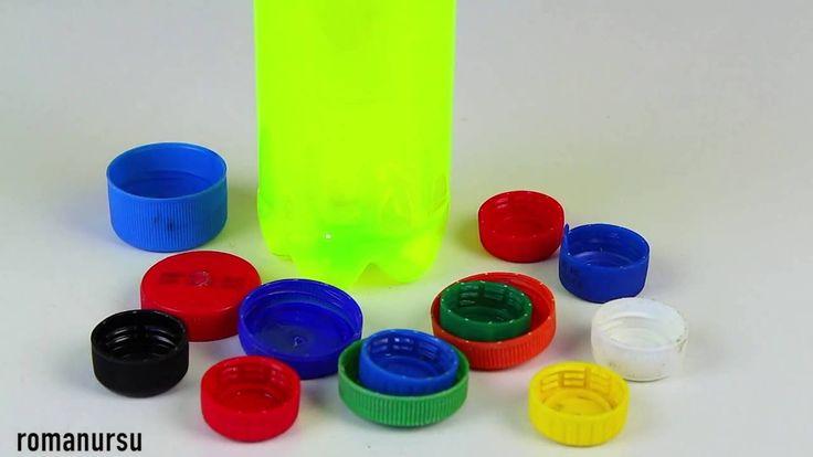 Я в шоке !!! Что можно сделать из крышек от пластиковых бутылок. Приветствую Вас на моём канале Roman Ursu, где Вы научитесь делать самоделки, новогодние поделки, подарки, игрушки, пугалки к Хэллоуину, а главное что все это можно сделать в домашних условиях и своими руками!