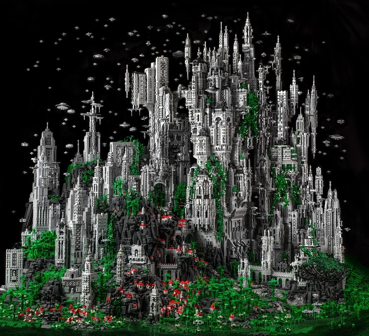 City on a hill cannot be hidden. Especially true when made from Lego.