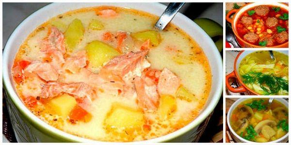 Супы нужно употреблять каждый день. Поэтому для разнообразия мы собрали для вас рецепты из самых вкусных супов!