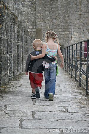 Brother & Sister by Christian Degroote, via Dreamstime