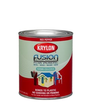 """Krylon Introduces the First Brush-On Paint for Plastic, Fusion for Plastic 