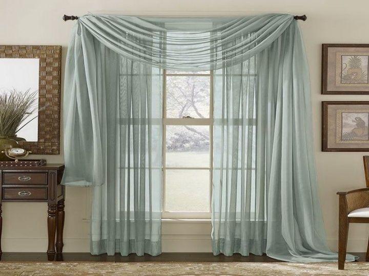 window treatments sheer curtains