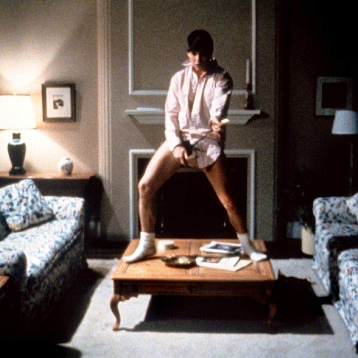 """Just take those old records off the shelf""  Risky Business  ""Princeton needs a guy like Joel""  Ha ha!  I learned so much from repeated viewings of this movie!"
