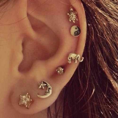 Acessórios do dia – Ear blings