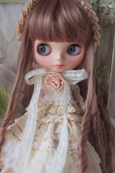 ∮anfisa∮custom blythe ANTIQUE DOLL ◇カスタム◇※難あり_画像2