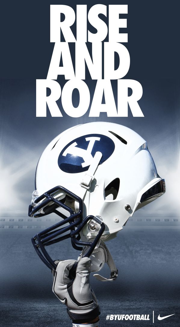 RISE AND ROAR | BYU Football 2013 by Dave Broberg.  Taylor--can you buy me a poster at BYU that Brandon would want in his room?