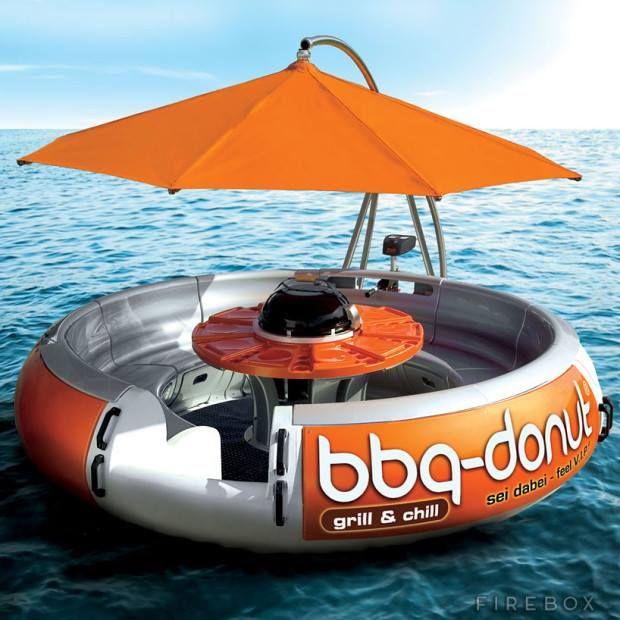 #BBQ Donut Boat