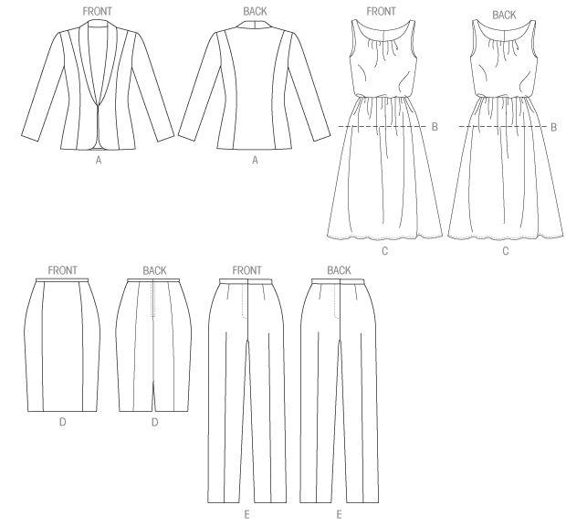 9 best Tailored Jacket Patterns images on Pinterest | Jacket pattern ...