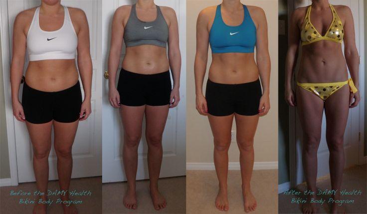 DAMY Bikini Body Program Results!Reduce Weights, Bikinis Body, Weight Loss, Healthy Weights, Lose Weights, Easy Weights, Weightloss, Weights Loss, Body Programs