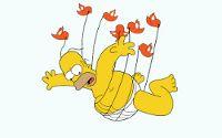 Los Simpsons OnLine - El autobús de la muerte - Capitulos OnLine - Español Latino. Episodio que recrea el libro de El señor de las moscas.