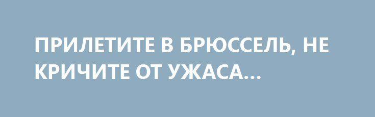 ПРИЛЕТИТЕ В БРЮССЕЛЬ, НЕ КРИЧИТЕ ОТ УЖАСА… http://rusdozor.ru/2017/04/06/priletite-v-bryussel-ne-krichite-ot-uzhasa/  Бывают сказки, в которых грустный конец. Сказка о безвизе из таких. Ещё один шаг, и очень многие, те, кто строил воздушные замки в розовых облаках потеряют мечту. Это как комната в замке Синей Бороды, да, вот дверь, и вот ключ. ...
