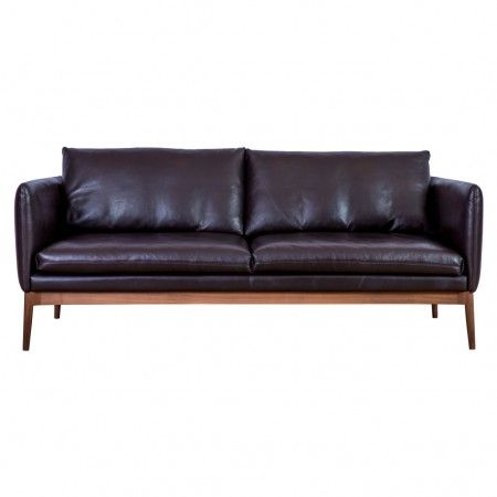 The Perfect Mix Of Vintage And Contemporary Style, The Elgin Three Seat Sofa  Showcases The Classic Sixties Silhouette, With Modern Practicality.