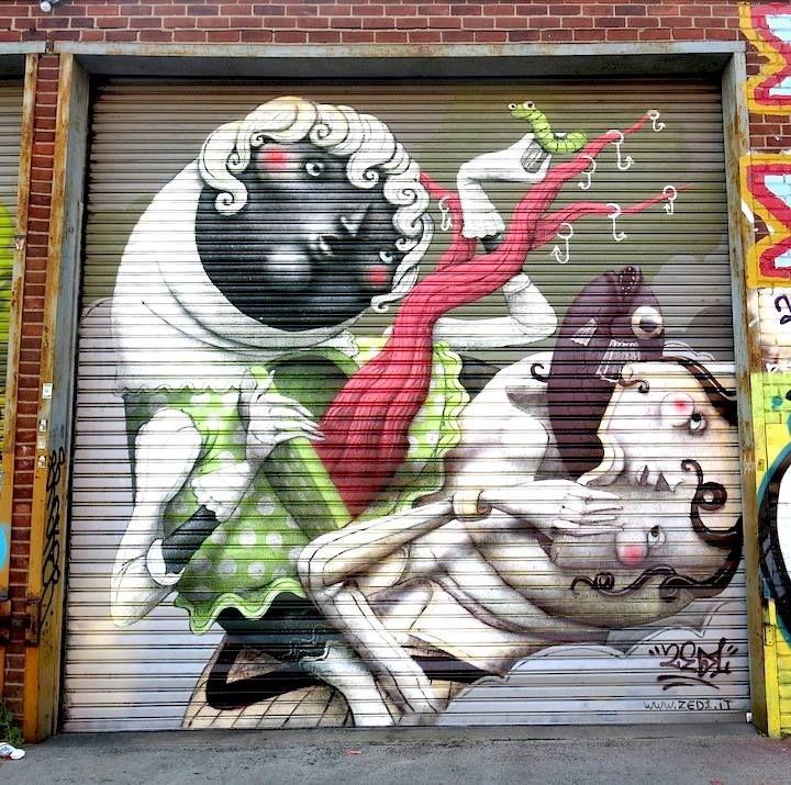 Zed1 urban art #zed1 #streetart #urbanart #graffiti #urbanartists #wallmural #streetartists #murals