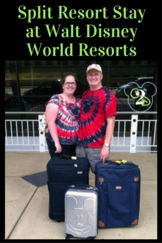 If you can't decide between 2 resorts on Walt Disney World property, you might want do a split resort stay at Walt Disney World Resorts.Do you like split stays, or do you prefer to spend your time at the same resort?