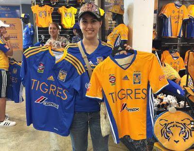 Nueva equipaciones de futbol de Tigres UANL 2017
