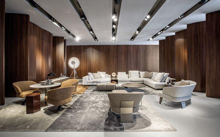 Miami Flagship Store Minotti Miami Flagship Store Furniture Arrangement Furniture Home Decor