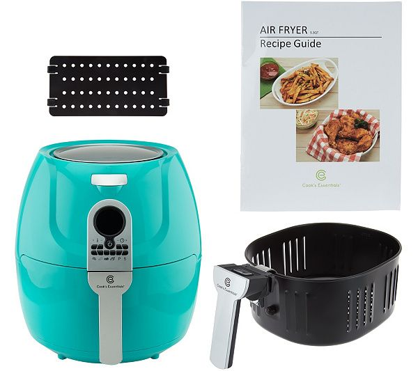 With a large 5.3-quart capacity and the most presets ever offered, this powerful Cook's Essentials air fryer makes it easy to quickly cook up delicious meals for a crowd. QVC.com
