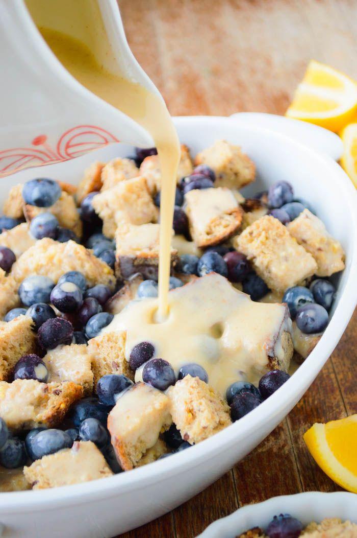 Lemon Blueberry French Toast Bake - The Nutritious Kitchen