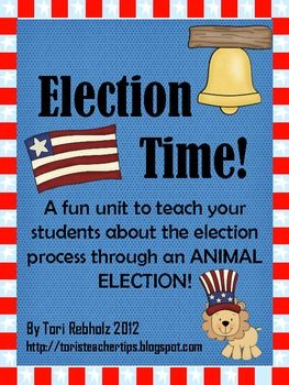 Election Time! {A complete election unit!}