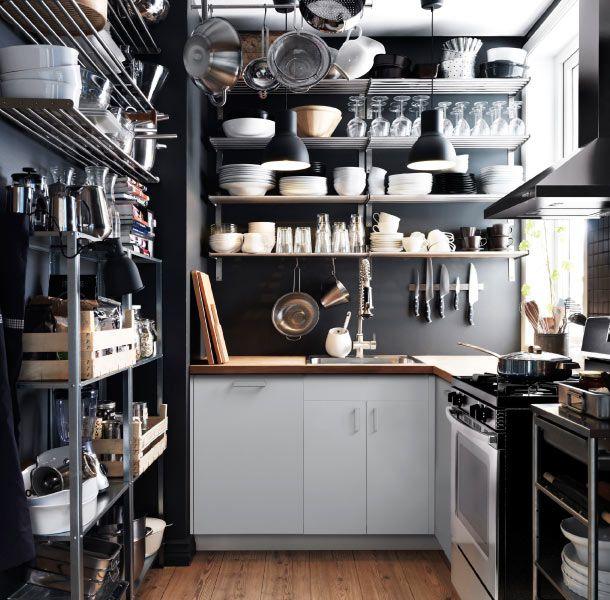 25 best Kitchen shelf images on Pinterest | Kitchens, Open shelves ...