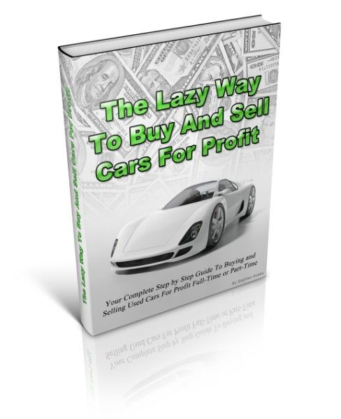 Does The Lazy Way To Buy And Sell Used Cars For Profit Guide Really Work or Is it a Rip-off? Here is a Review of Stephen Hobbs's Program:  http://www.buyandsellusedcars.net/buying-and-selling-used-cars-for-profit-ebook-review/