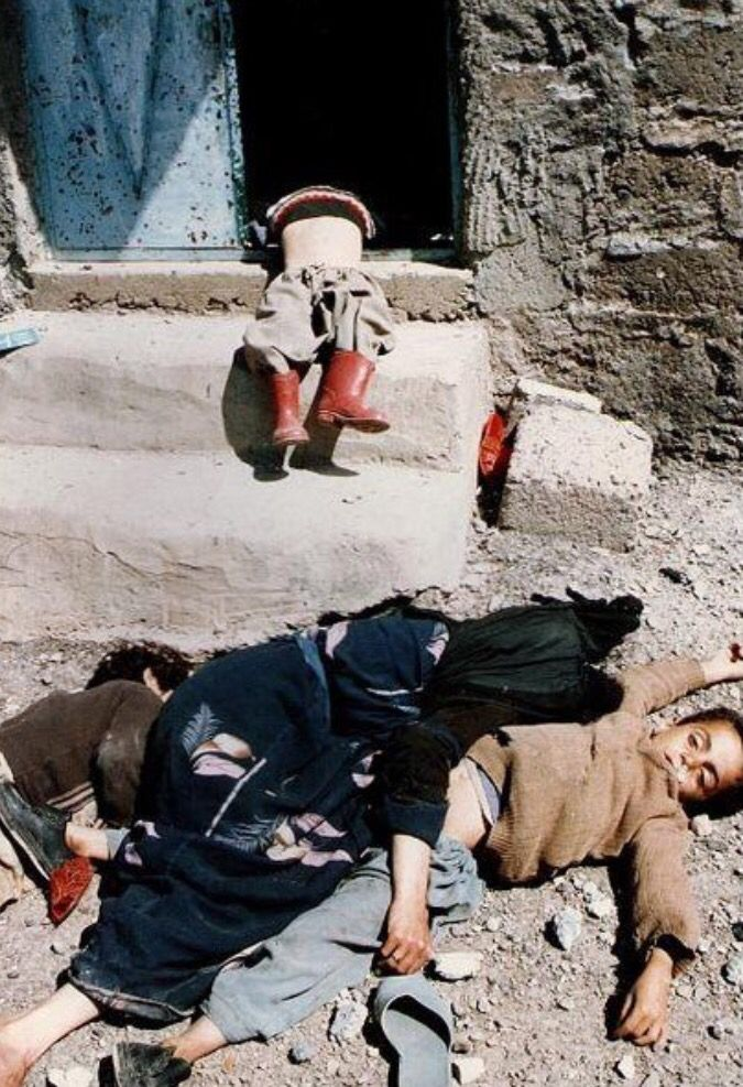1988: Thousands die in Halabja gas attack Thousands of people are reported to have been killed and many others injured in a poison gas attack on a Kurdish city in northern Iraq. Up to 20 aircraft, said to include Iraqi Migs and Mirages, were seen overhead at around 1100 local time in Halabja. According to experts, the chemicals dropped by the planes may have included mustard gas, the nerve agents sarin, tabun and VX and possibly cyanide. The attack on Halabja, which is about 150 miles…