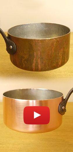 Un super truc pour nettoyer les vieux chaudrons.  http://rienquedugratuit.ca/videos/un-super-truc-pour-nettoyer-les-vieux-chaudrons/