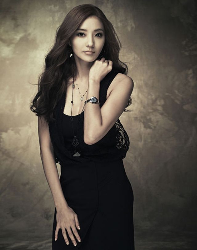 Han Chae Young for Emporio Armani