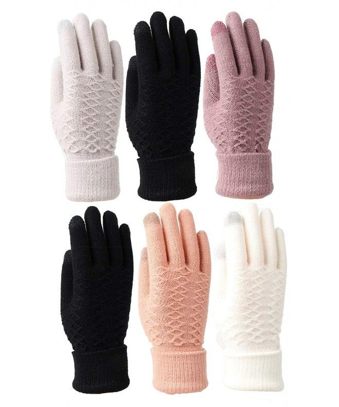 6 pairs Mens Thermal Fingerless Gloves.Warmth.