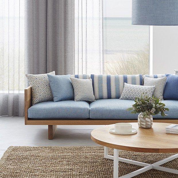 Blue And White Decor Axella Warwick Fabrics Australia