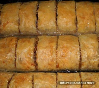 fenomenalnog okusa, topi se u ustima   SASTOJCI  • 1 pakovanje kora za savijaču  • 5-6 jabuka  • 100 gr grožđica  • 100 gr suvih br...