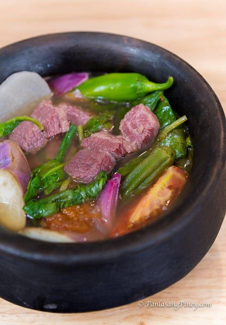 Corned Beef Sinigang Recipe Filipino Food And Recipes
