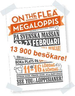 Megaloppis i Göteborg - OnTheFlea Loppemarked