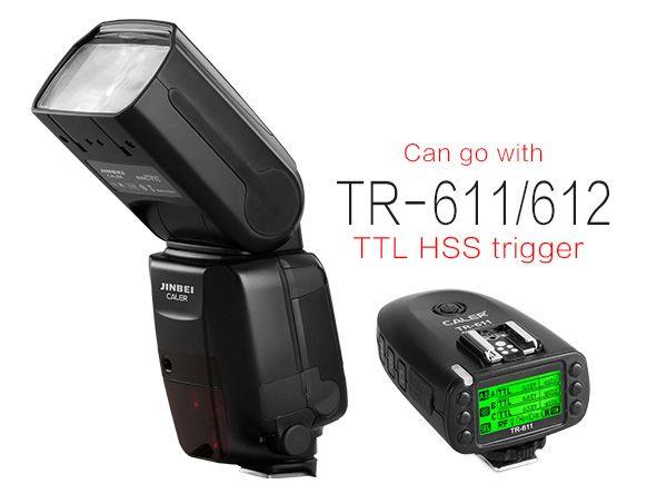 Lampa błyskowa 600C/N TTL Speedlite [1/8000 HSS/GN60 (ISO 100 m)]